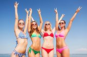 foto of peace-sign  - summer vacation - JPG