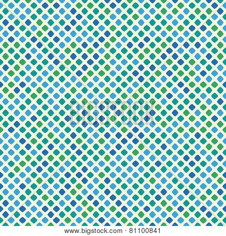 tiled blue
