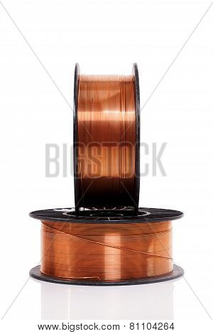 Industrial Copper Welding Wire On Spools