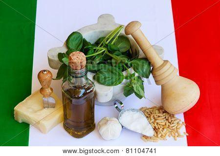 The Basic Ingredients Of Italian Pesto