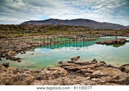 Landscape At Aspri Limni