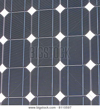Solar Panel Closeup Texture, Industrial Equipment