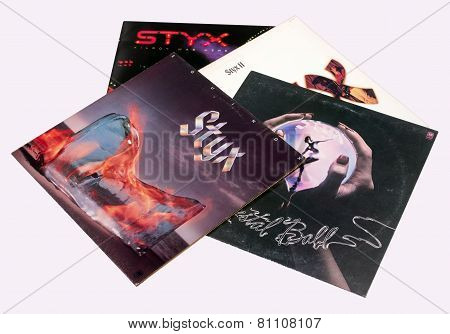 Styx Record Albums