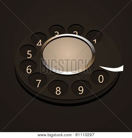 Telephone disk numbers.