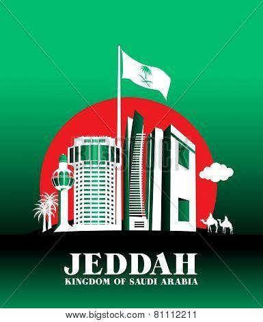 City of Jeddah Saudi Arabia Famous Buildings