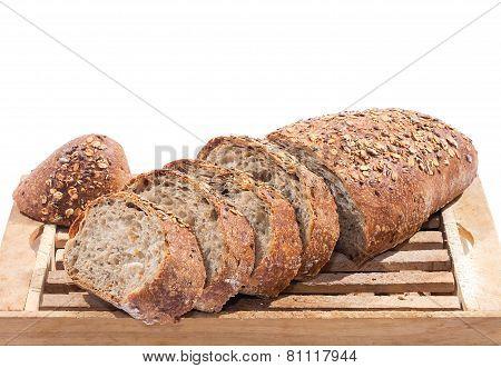 Sliced Whole Grain Bread