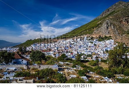 A View Of Chefchaouen, Morocco