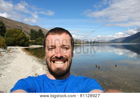 Tourist Selfie New Zealand
