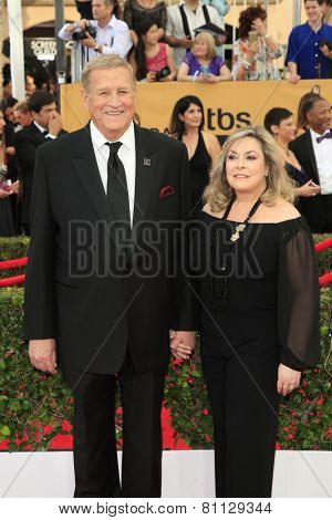 LOS ANGELES - JAN 25:  Ken Howard at the 2015 Screen Actor Guild Awards at the Shrine Auditorium on January 25, 2015 in Los Angeles, CA