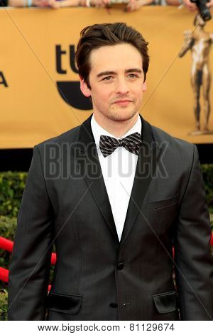 LOS ANGELES - JAN 25:  Vincent Piazza at the 2015 Screen Actor Guild Awards at the Shrine Auditorium on January 25, 2015 in Los Angeles, CA