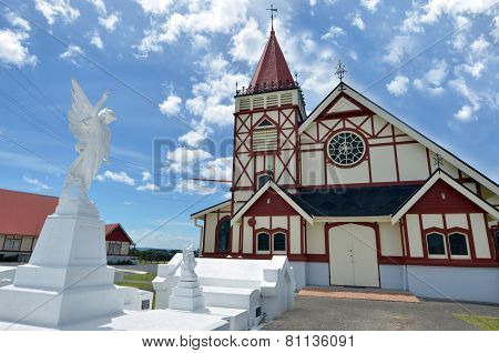 St Faith's Anglican Church In Rotorua - New Zealand