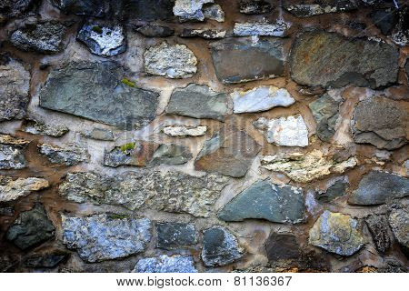 Abstract background with old stonework