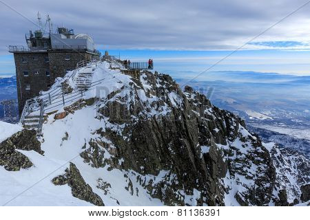 Lomnitsky Stit Viewpoint. High Tatra Mountains, Slovakia