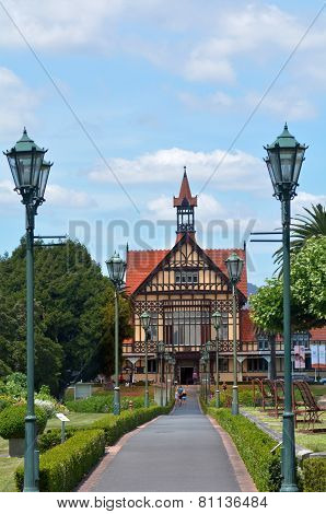 Rotorua Museum Of Art And History - New Zealand