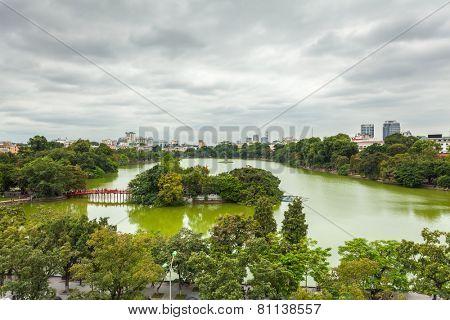 Hoan Kiem Lake, Vietnam