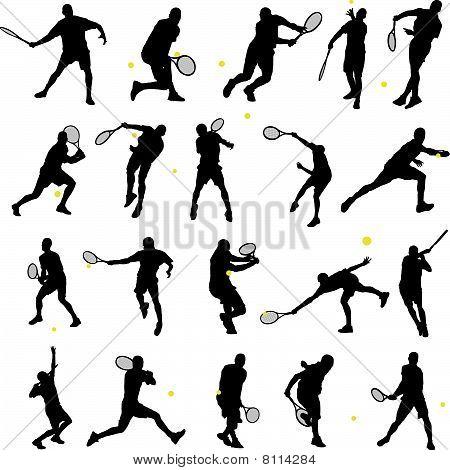 20 Tennis poses