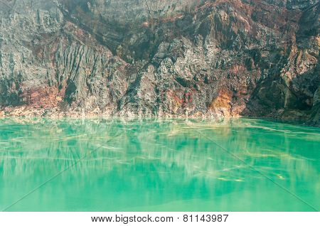 Kawah Ijen Lake