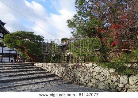 Outdoor View Of Tenryu-ji In Kyoto, Japan
