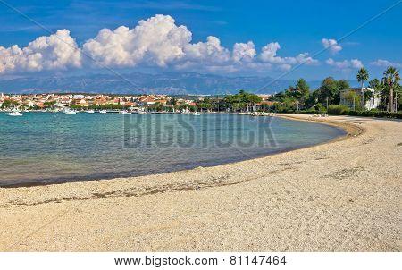 Pag Island, Novalja Village Beach
