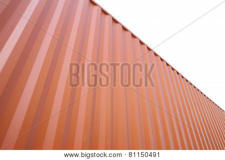 Stack of Shipping cargo container at dockyard