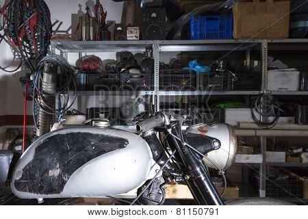 Motorbike Fuel Tank.