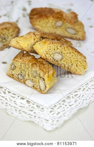 Cantucci On The White Table