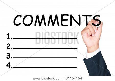 Comments List