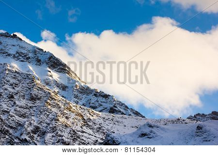 Mountain Snow Landscape