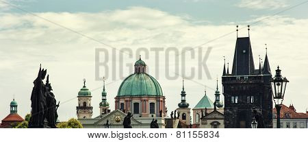 Scene Of Prague