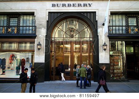 Burberry Store London