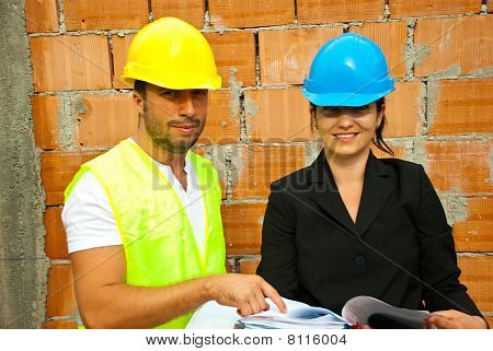 Two Young Architects On Site