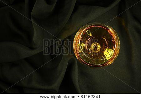 Brandy On Black Cloth