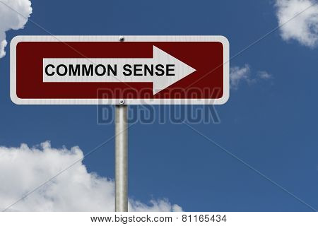 The Way To Common Sense