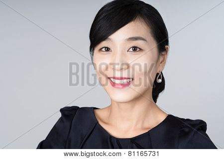attractive asian woman image