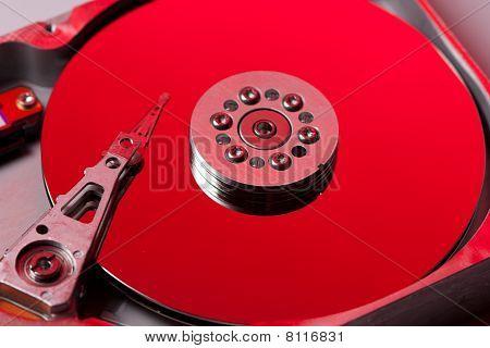 Red hard disk