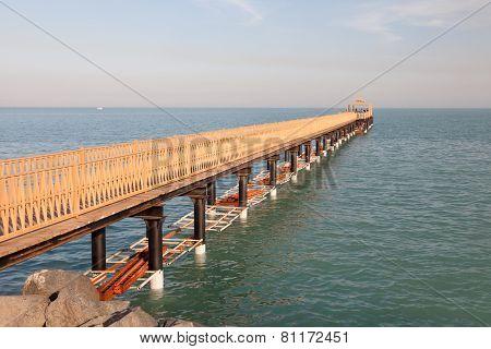 Pier In Kuwait City