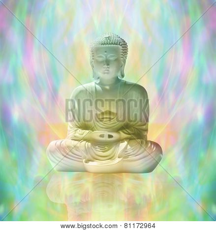Buddha in peaceful meditation