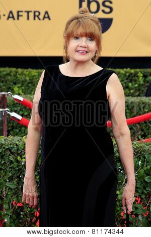 LOS ANGELES - JAN 25:  Annie Golden at the 2015 Screen Actor Guild Awards at the Shrine Auditorium on January 25, 2015 in Los Angeles, CA