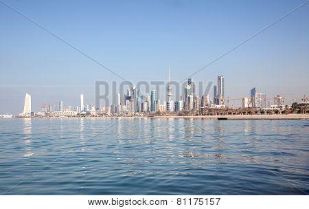 Skyline Of Kuwait City