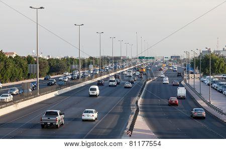 City Highway In Kuwait