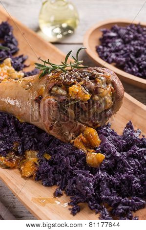 Roasted Turkey Drumstick