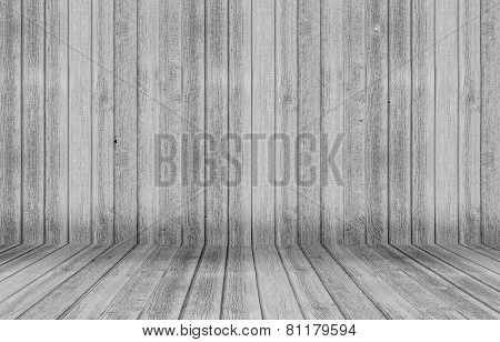 Wood Background With Floor Planks