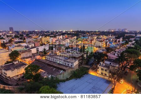 Bangalore City skyline India