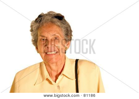Elderly Tourist - Isolated