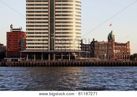 Rotterdam - Old And New Architecture