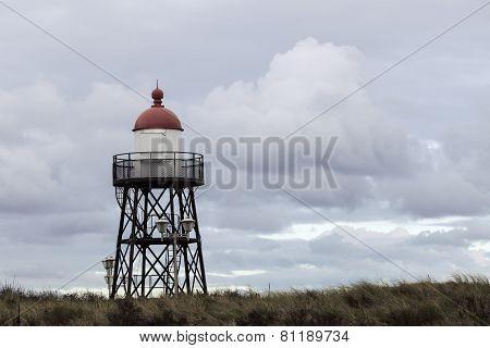 Small Lighthouse In Scheveningen
