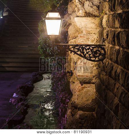 beautiful old lantern