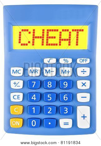 Calculator With Cheat