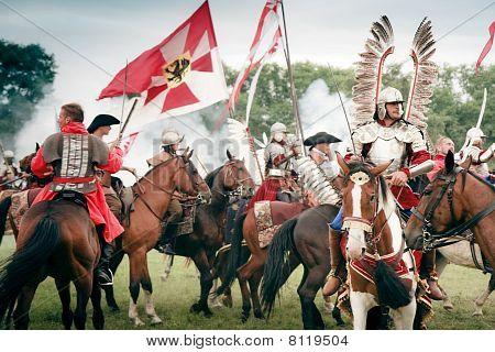 Battle Of Klushino 1610 - Polish Winged Hussars