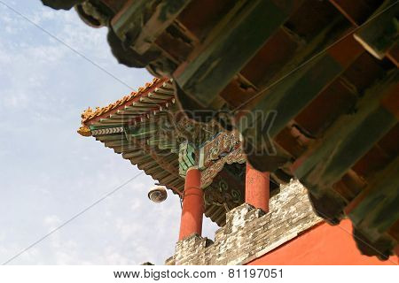 Beijing Forbidden City Architecture Detail Pattern Design
